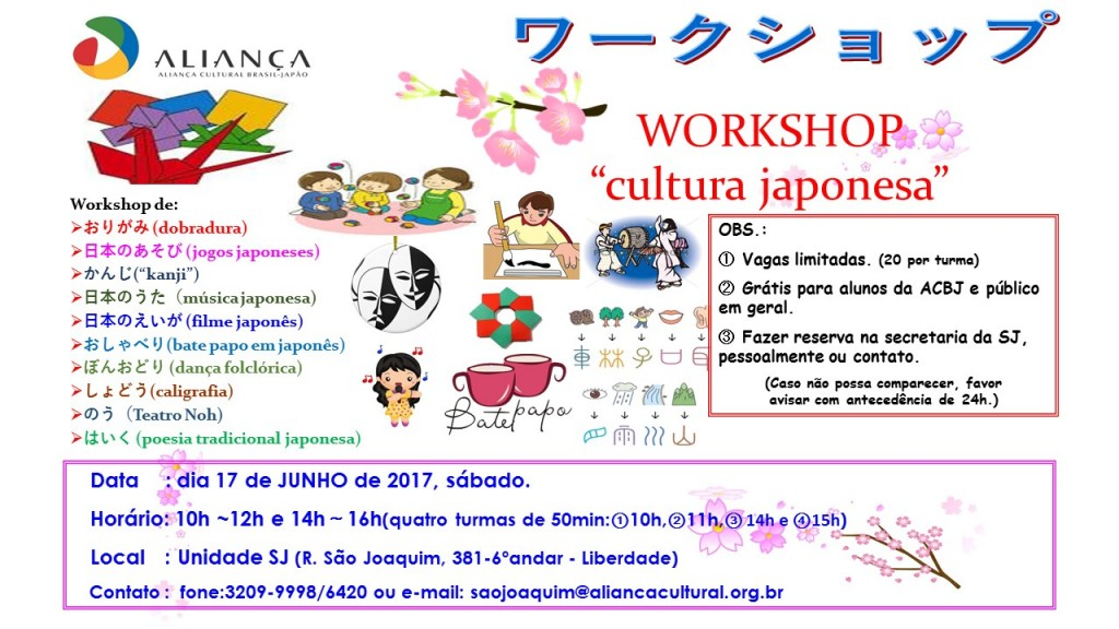 Workshop 17.06.2017